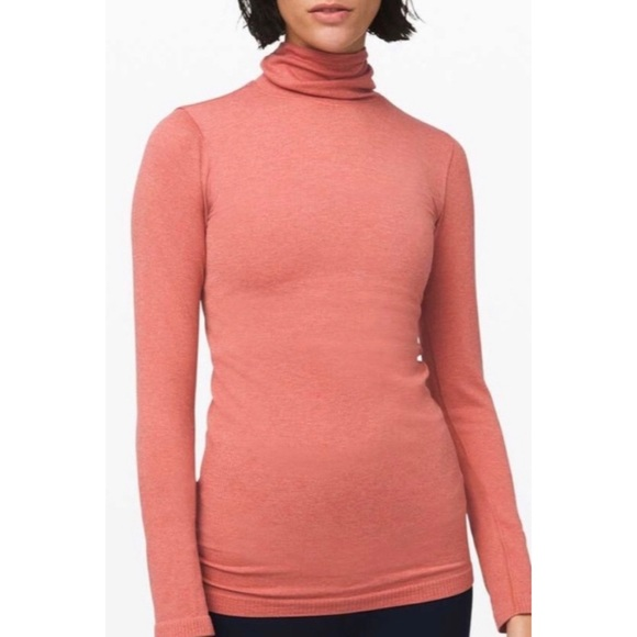 LULULEMON yin vibes turtleneck in copper clay